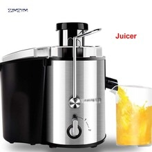 1PC JYZ-D55 Electric Household Juicer Fruit Citrus Generation Juicer Make 250W Power Food Mixer Blender Juice Sugarcane Machine