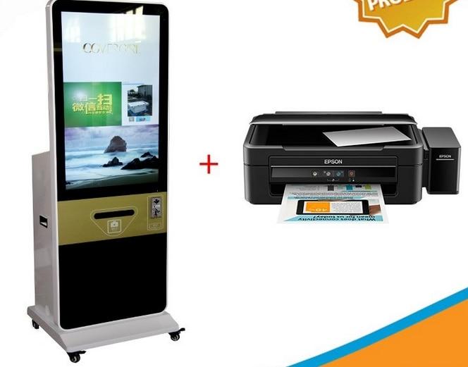 42 43 بوصة تقف وحدها LCD الذكية للتسوق مول واي فاي شاشة إل سي دي باللمس كشك البطاقة الذكية