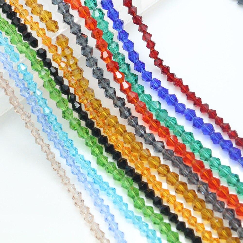 Бусины из муранского хрусталя 2/3/4 мм из чешского стекла, бусины для рукоделия, ювелирные изделия, оптовая продажа