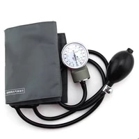 aneroid sphygmomanometer measure device home use blood pressure manual watches meter arm tool health therapy care tonometer
