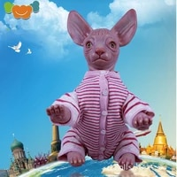 48cm reborn dolls sphinx hairless cat realistic vinyl real life decorative toys dolls for girls toys for girls juguetes