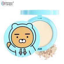 Double couche visage maquillage poudre cosmétique Pores humides et secs couverture correcteur visage pressé 15g maquillage marque HengFang # H8039