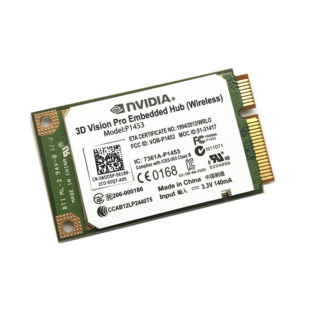 New Dell Nvidia 3D Vision Pro Embedded Hub Wireless card Model P1453 6DD5P