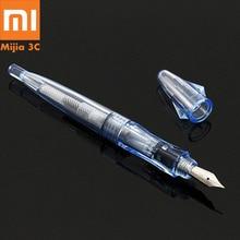 Encre remplissage stylo plume luxe PC EF plume stylos à encre pour étudiant école bureau écriture stylo scrapbook fournitures de travaux manuels