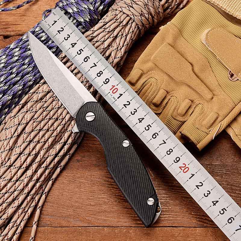 Медведь 111 складной тактический Флиппер нож G10 подшипник БОЕВОЙ ОХОТНИЧИЙ выживания карманные ножи утилита Кемпинг спасательный EDC Мульти и...