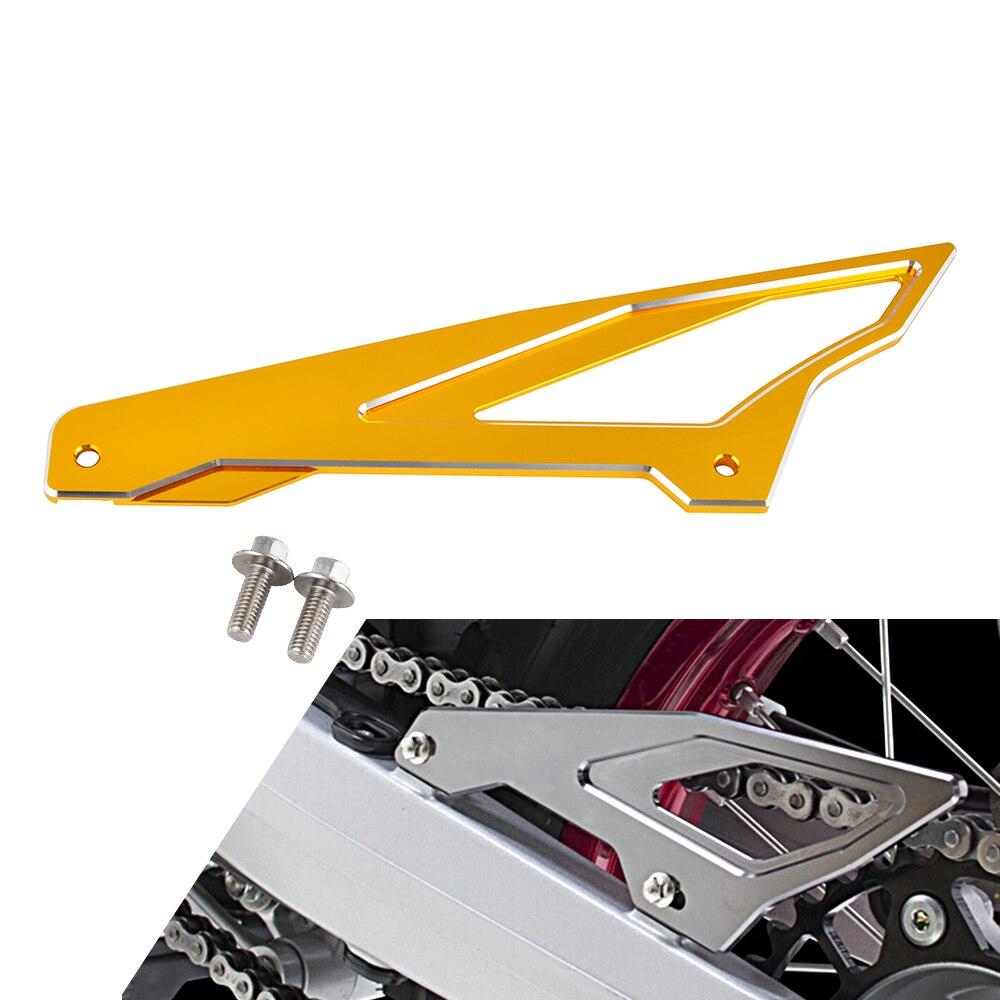 Protector de cadena trasera cubierta protectora para Suzuki DRZ125 DRZ400S DRZ400SM 2017 2018 todos los años DRZ 125 400 S 400SM 400 S SM aluminio