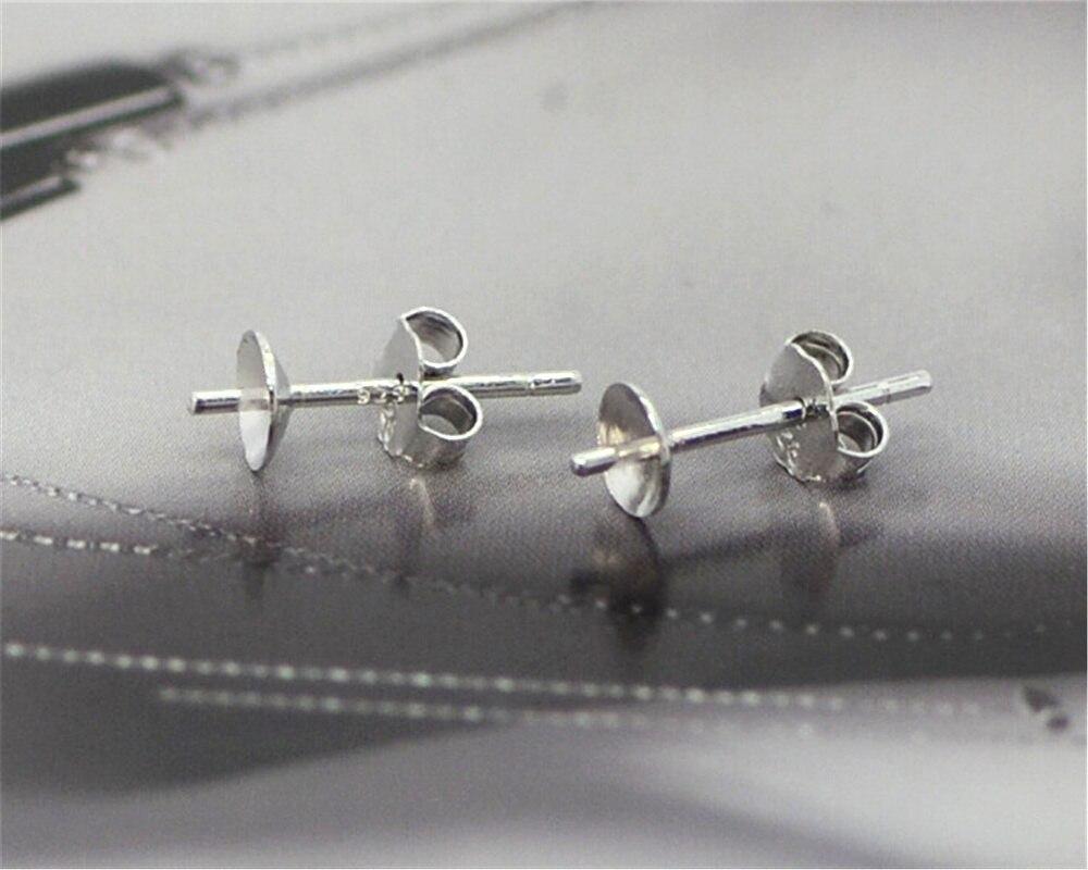 Livre jóias achados 20 pçs em massa 925 prata esterlina orelha pino pares brincos 925 rolhas de volta pós artesanal FY-01 + 02
