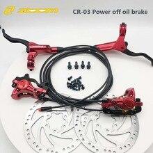 Zoom CR3 E-Bike Elektrische Scooter Power-Off Power Off Shifter Controle Olie Hydraulische Disc Remklauw Vouwen bike F Xiaomi M365