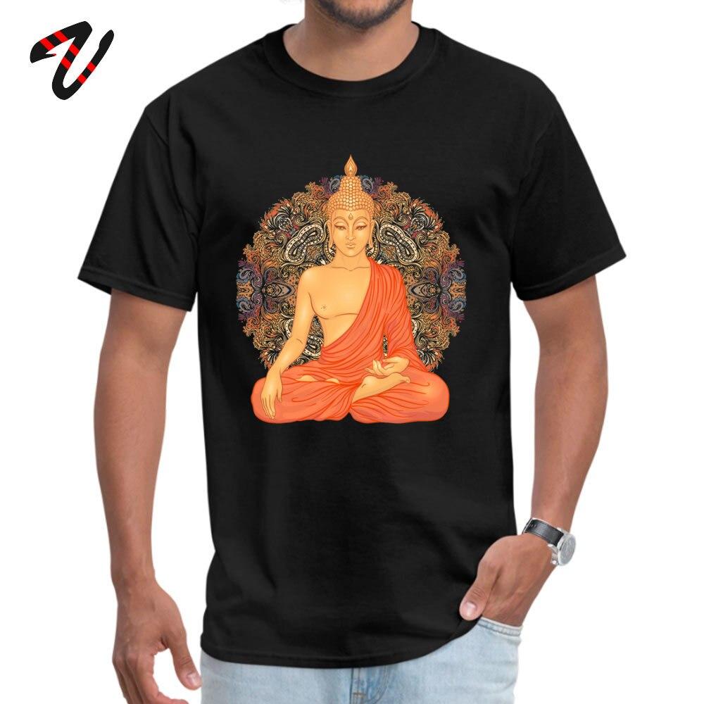 Golden Buddha + Mandala divertido Justin Bieber manga camiseta trabajo día cuello redondo Marvel hombres camiseta divertida camisetas familia