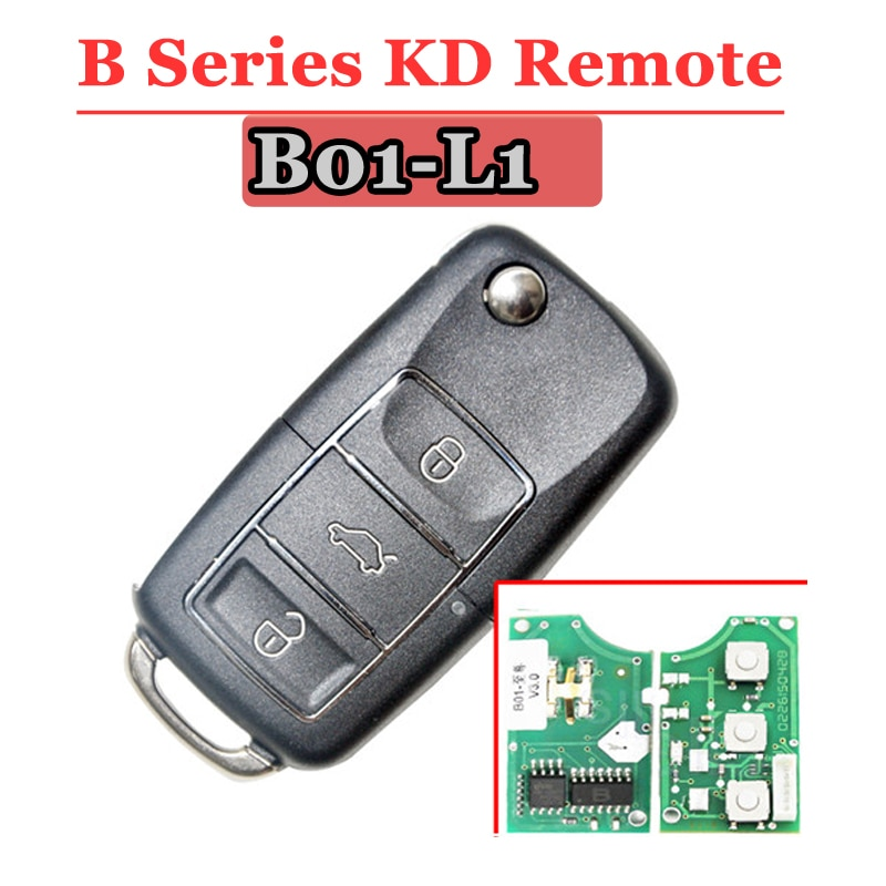 Llave remota KD900 serie B B01 3 botones de lujo para keydiy KD900 KD900 + Mini máquina KD