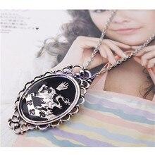 JAVRICK vente chaude Twilight Alice Rosalie Cullen famille crête pendentif chaîne collier #38500 #