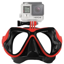 2018 New Professional Underwater Sport Diving Mask Scuba Snorkel Swimming Goggles Glasses for GoPro Xiaomi SJCAM Sports Camera