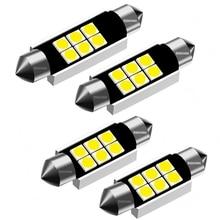 Festoon 31mm 36mm 39mm 41mm LED ampuller C5W C10W süper parlak 3030 SMD Canbus hata ücretsiz oto iç Doom lambası araba Styling işık