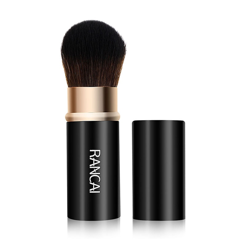 купить RANCAI 1pcs Retractable Makeup Brush Powder Foundation Blending Blush Kabuki Highlighter Bronzer Brushes Maquiagem Cosmetic Tool в интернет-магазине