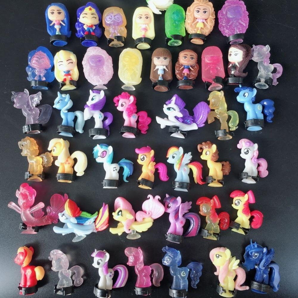 Cristal color pequeño Pony Baoli muñeca dibujos animados periféricos productos de comercio exterior