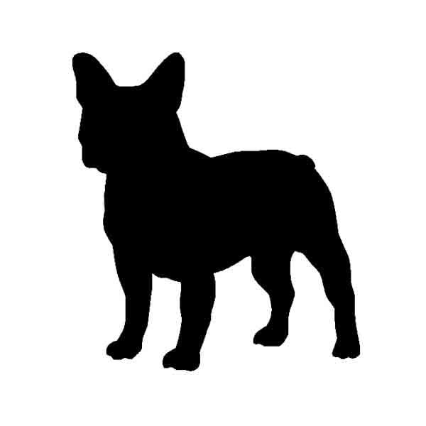 Pegatina de vinilo para perro Bulldog francés para coche SUV camión ventana parachoques pared del hogar para ford focus curze mazda
