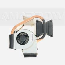 Original for HP pavilion DV5 DV5-2000 cooling heatsink with fan 606889-001
