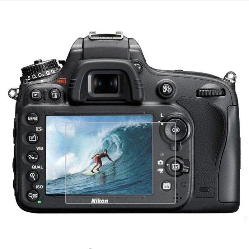 Protector de vidrio templado para Nikon D4S D5 D500 D600 D610 D7100 D7200 D750 D800 D800E D810 D850 cámara de pantalla película protectora pantalla LCD