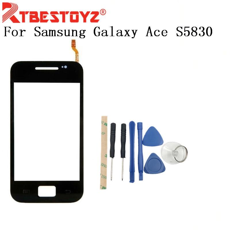 RTBESTOYZ-Panel digitalizador con Sensor de lente de cristal frontal, para Samsung Galaxy...