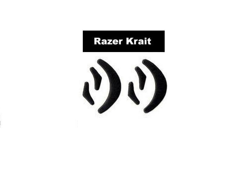 Pies de ratón skatez/Mouse para Razer krait (2 juegos de pies de ratón de repuesto)