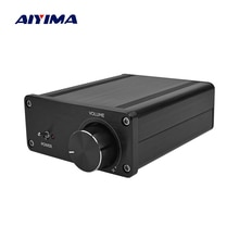 Aiyima mini tpa3116 amplificadores de potência digital 100wx2 amplificador de som estéreo alta fidelidade amplificador de som diy sistema de som alto-falante em casa teatro