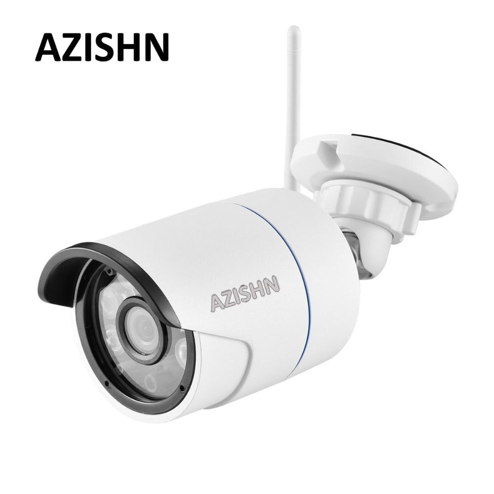 AZISHN Yoosee Wifi ONVIF 720 p 960 p 1080 p IP Kamera Drahtlose Verdrahtete P2P CCTV Outdoor Metall Kamera Mit SD Card Slot Max 128g