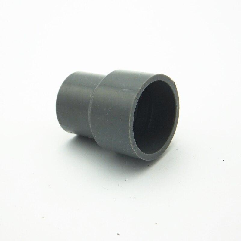 50mm x 20mm ID PVC reductor directo tubo Instalación de tubería conjunta conector de agua para jardín sistema de riego Hobby DIY