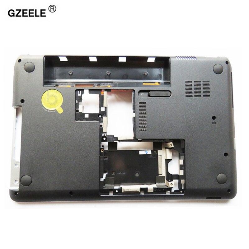 GZEELE nuevo ordenador portátil cubierta inferior para HP Pavilion envidia DV6-7000 DV6-7100 DV6-7200 DV6-7300 682051-001 707924-001 reemplazar shell