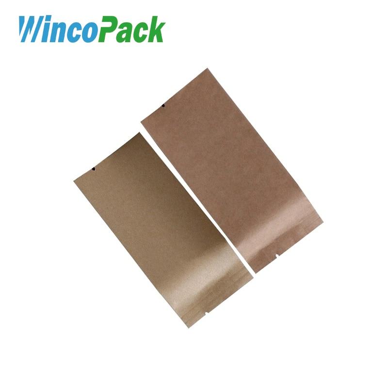 WincoPack алюминиевой фольги с покрытием многомерные крафт-бумаги пакетики для чая
