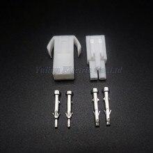 10 sätze Kleine Tamiya stecker Set Kits mini Tamiya set EL 4,5 MM stecker buchse stecker mit 2 P 2 Way/pin
