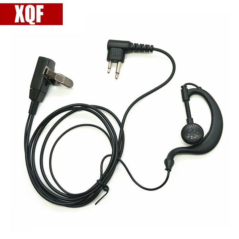XQF auriculares gancho auricular para Radio Motorola P110 SP21 SP10 P1225 GP3188 GP3688 PRO3150 GP2000 GP88 GP88S