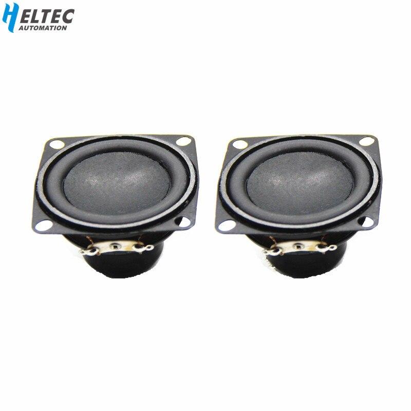 Freies verschiffen 2 PCS 53mm 2 zoll 4 ohm 10 W Bass Multimedia Lautsprecher/Magnetische Lautsprecher/Kleine lautsprecher mit festen loch
