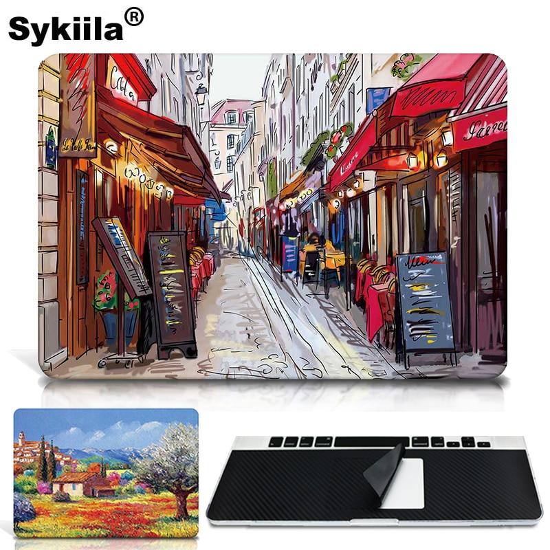 Sticker Skin For Macbook Air 13 11 Pro 13 15 12 Retina Skin Decal Laptop A1706 A1707 A1708 Wall Car Vinyl Logo Marble