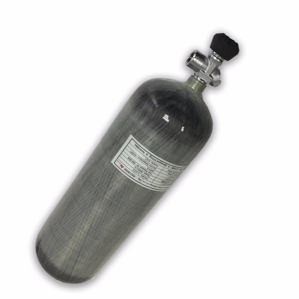 AC109101 9L Pcp válvula Condor cilindro de Gas buceo 300Bar oxígeno fibra de carbono tanque de aire seguridad y protección Softgun Acecare