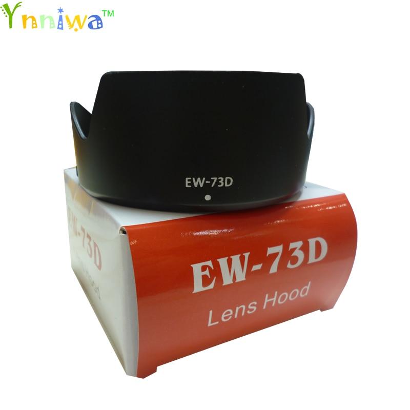 10 шт./лот EW-73D EW73D лепесток Baynet бленда объектива камеры 67 мм резьба для CANON EF-S 18-135 мм F3.5-5.6 IS USM камера с упаковочной коробкой