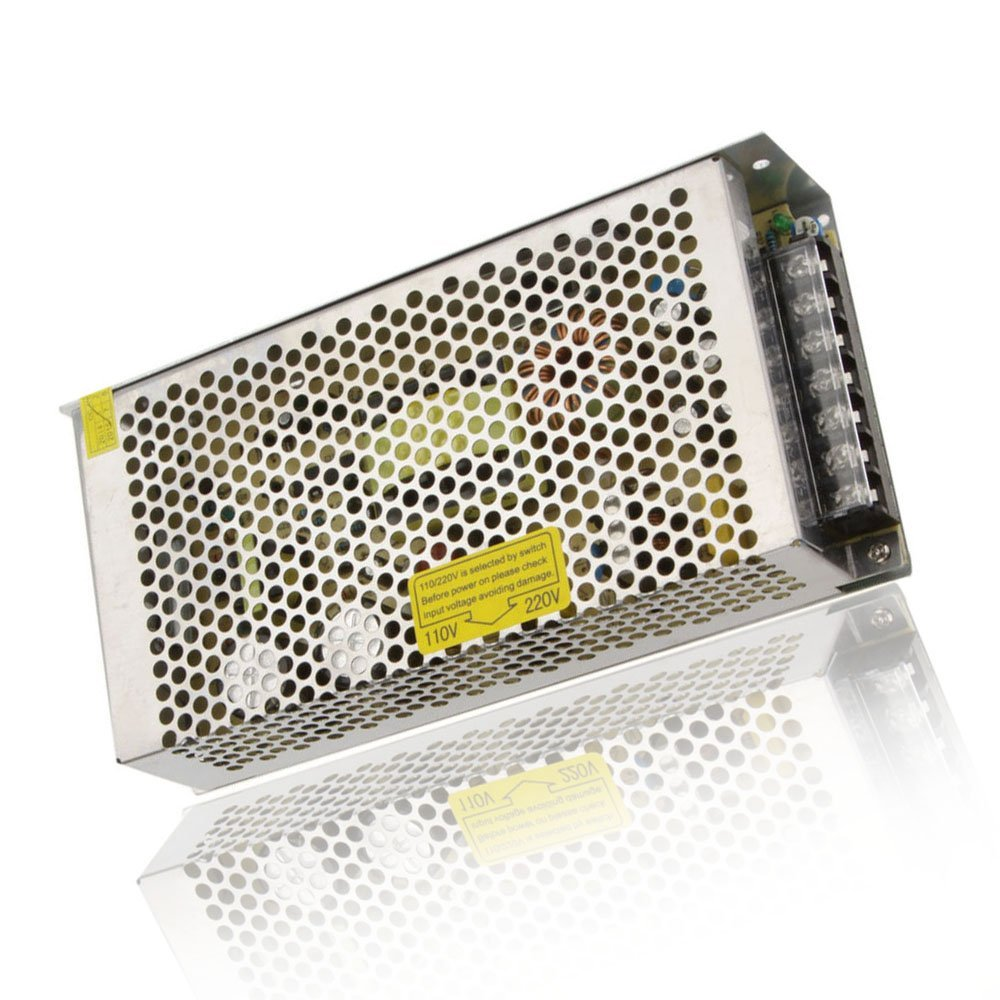 Fuente de alimentación LED FDDT AC 110 V/220 V a DC 12V 15A 180W transformador de interruptor LED para tira LED