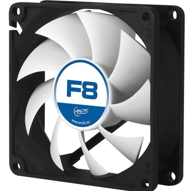 Вентилятор охлаждения Arctic F8 3pin, 8 см, 80 мм, 2000 об/мин, тихий вентилятор с контролем температуры, оригинальный