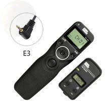 PIXEL TW-283 E3 Minuterie Sans Fil Déclencheur Télécommande Pour Canon 760D 750D 700D 650D 600D 550D 500D 60D 70D 1200D T6s T6i