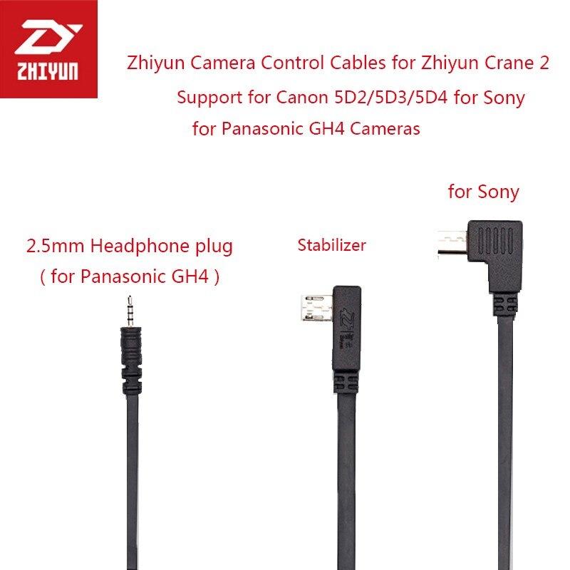 Zhiyun-Cable de Control de cardán para cámara, Cable Micro USB a CTIA,...