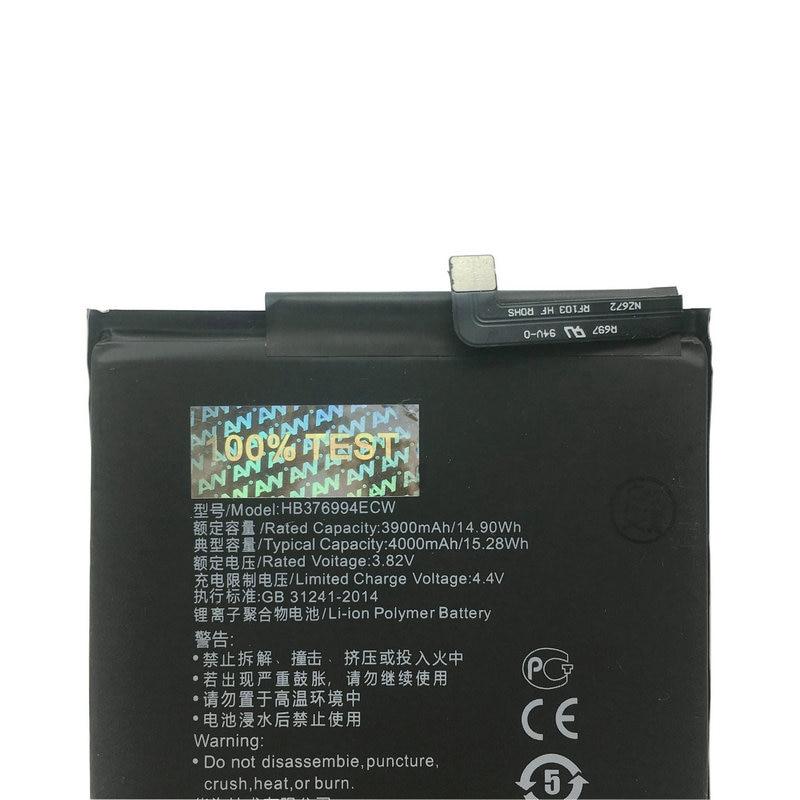 AVY Battery For Huawei Honor 8 pro / honor V9 DUK-AL20 DUK-TL Mobile phone Rechargeable Li-polymer Batteries HB376994ECW 3900mAh enlarge