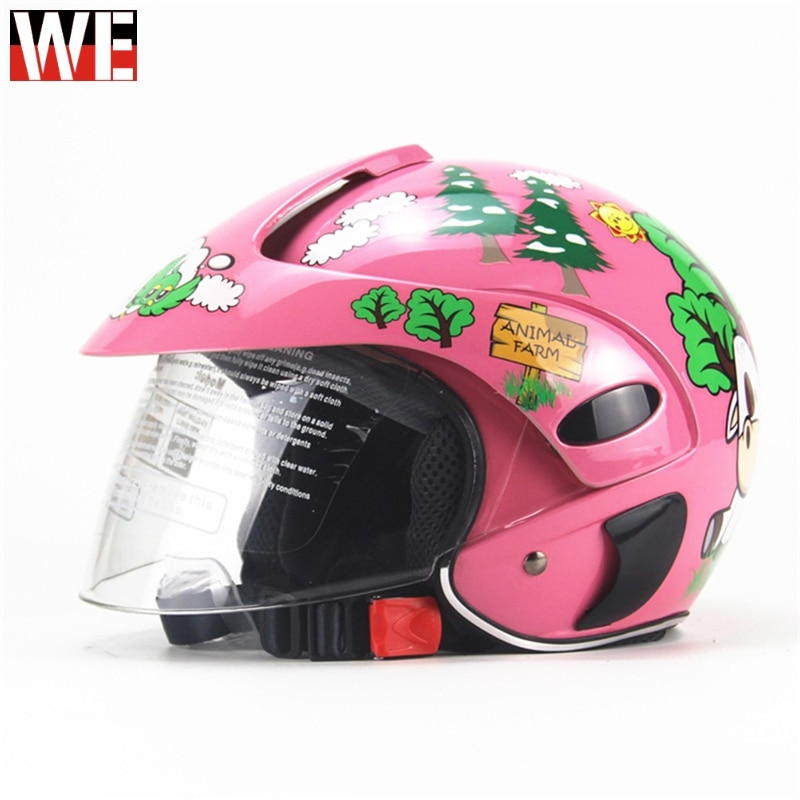 WOSAWE niños Motocross máscara completa motocicleta niños cascos MOTO niños MOTO casco de seguridad casco de protección