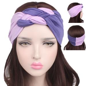 Women Spring Summer Suede Headband Bohemian Hair Bands Cross Knot Head Wrap Soft Solid Girls Hairband Hair Accessories
