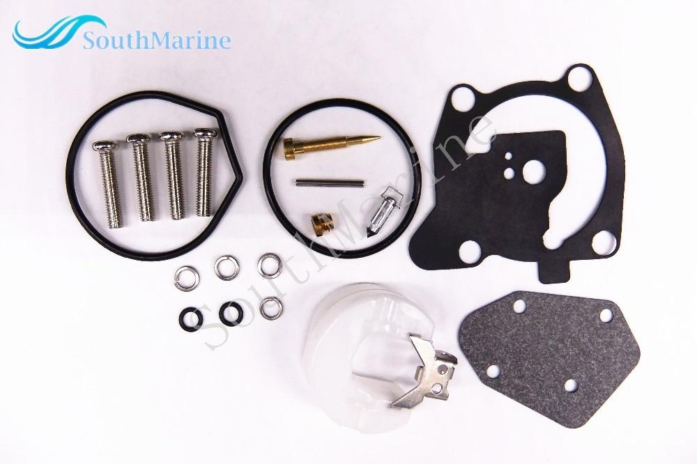 Ремонтный комплект карбюратора для лодочного двигателя 66T-W0093-00-00 для подвесного двигателя Ямаха 40HP E40X