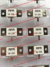 Envío gratis 10 unids/lote nueva RFR50-250 RFR-50-250 RFR 50-250 250 W 50R 50 Ohms 250 vatios PIN único