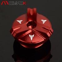M27*3 Oil Filler Cap Plug For YAMAHA FZ07 MT07 YZF R1 R3 R6 R25 FZ1 FZ6 FZ6R FZ400 FZS600 FZS1000 Fazer FZR FZX 250 XJR400