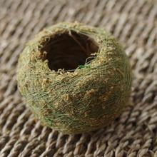 Мячи для мха японский мячик для мха с семенами мха персональный маленький вентилируемый цветочный горшок для орхидеи и бонсай украшение для сада