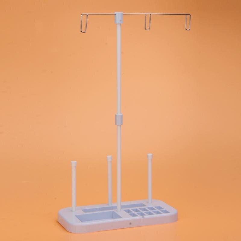 Bordado hilo para coser soporte 3 soporte para carrete Rack aguja hilo de coser organizador bricolaje máquina de acolchar accesorios de costura