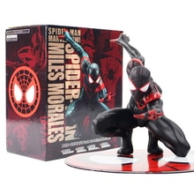 Marvel l Avengers Spiderman Miles Morales Marvei Ver. Spider Man Action Figure Toy Gift ARTFX + STATUE