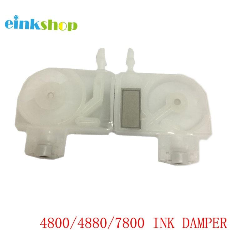 Einkshop 10 Uds tinta amortiguador para Epson 4880, 7800, 9800, 7880 4880c 4800, 4000, 4450, 4400, 7400, 7450, 9400, 9450, 9880 impresora UV