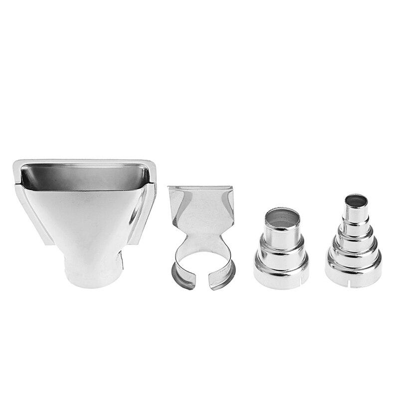 4Pcs/set Heat Gun Air Nozzles Electric Kit Accessories Industrial Tools Shrink Wrap
